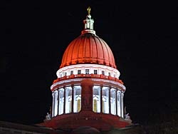 red capitol dome