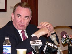 Fmr Governor Tommy Thompson (File Photo: Jackie Johnson)
