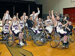 Whitewater wheelchair hoops