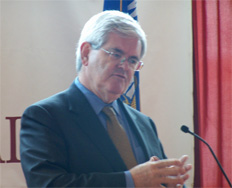 Gingrich in Madison