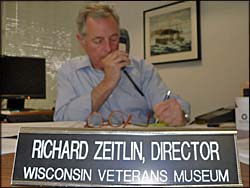 Veterans Museum Director Richard Zeitlin (Photo: Jackie Johnson)