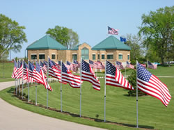Southern Wisconsin Veterans Memorial Cemetery - Union Grove, WI. (Photo: State DVA website)