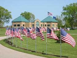 Southern Wisconsin Veterans Memorial Cemetery - Union Grove, WI. (Photo: State DVA website)