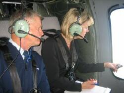Major General Al Wilkening and Lt. Governor Barbara Lawton (Photo: Lawton's website)