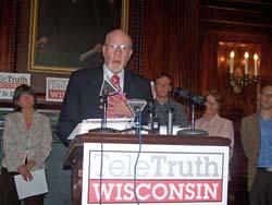 State Senator Fred Risser (D-Madison)