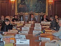 Gov. Doyle meets with UW Chancellors