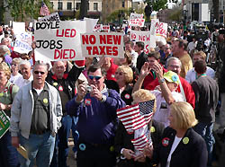 Americans for Prosperity rally (Photo: Jackie Johnson)