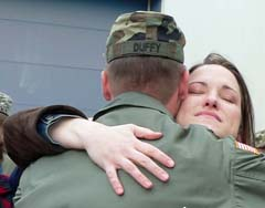 soldiers welcome home