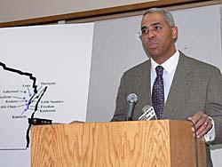 Revenue Secretary Roger Ervin (Photo: Jackie Johnson)