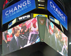Barack Obama at Kohl Center