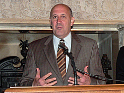Governor Jim Doyle (Photo: Jackie Johnson)
