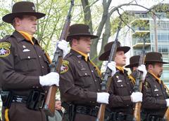 Honor Guard members at ceromony