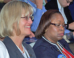 Barbara Lawton at DNC