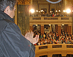 MLK day at Wisconsin State Capitol (Photo: Jackie Johnson)