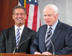 Sens. Russ Feingold, John McCain