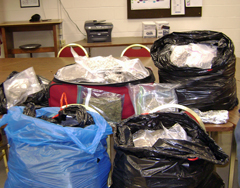 Seized marijuana/image Beloit P.D.