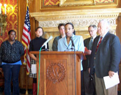 Capitol press conference: Reps. Grigsby, Barca, Sens. Vinehout, Jauch