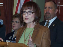 State Rep. Terese Berceau (D-Madison)