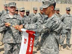 Watertown-based Wisconsin National Guard soldiers took over their base defense mission at Camp Cropper, Iraq recently