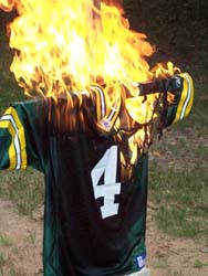Disgruntled Favre fan