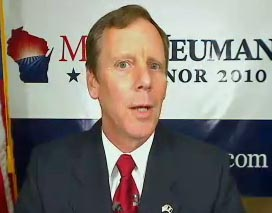 Mark Neumann during Wednesday's on-line press conference