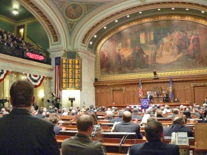 Assembly chambers  (PHOTO: Jackie Johnson)