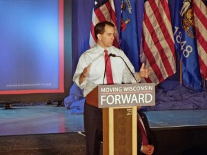Governor Scott Walker becomes first governor in US history to survive recall election (PHOTO: Jackie Johnson)