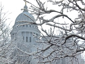 Snow in Wisconsin's Capital City (File photo: Jackie Johnson)
