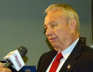 Governor Tommy Thompson (PHOTO: Jackie Johnson)