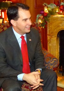 Governor Scott Walker (PHOTO: Jackie Johnson)