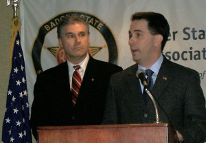 JB Van Hollen, Scott Walker