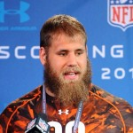 Travis Frederick at Scouting Combine