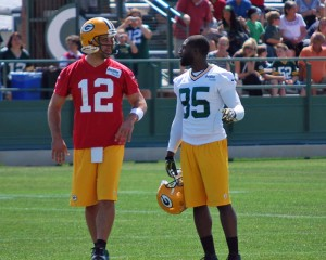 Aaron Rodgers & Greg Jennings