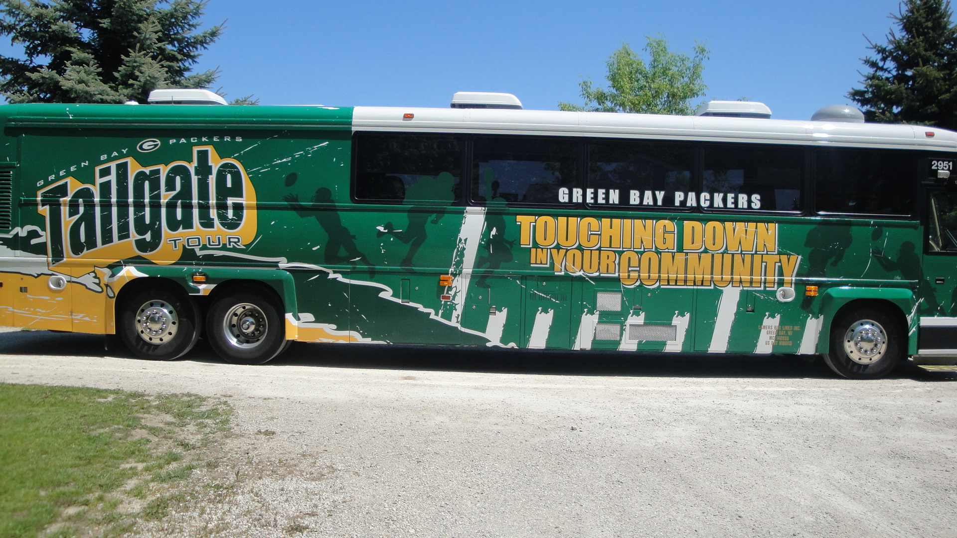 Packers Tailgate Tour