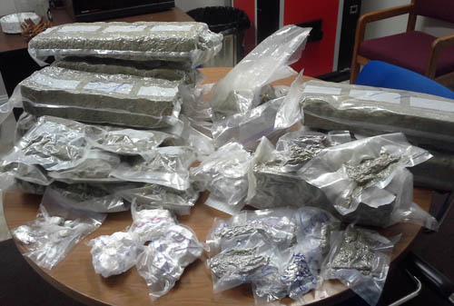 Drugs seized as part of an investigation in Oshkosh (PHOTO: Mike