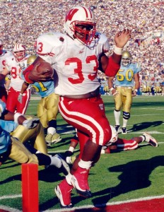 Ron Dayne in the 1999 Rose Bowl