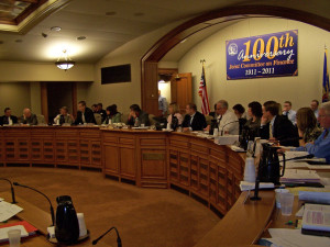 The Legislature's Joint Finance Committee (File photo: WRN)