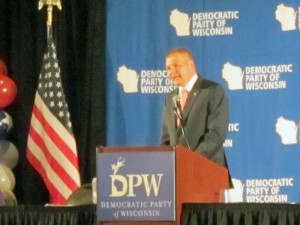 DPW Chairman Mike Tate (Photo: Andrew Beckett)