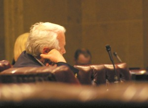 Senate takes final vote on state budget just after midnight Friday morning.