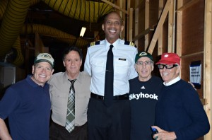 Airplane cast and crew reunite for Travel Wisconsin TV spots