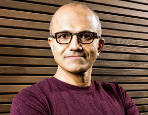 Nadella (PHOTO Microsoft)