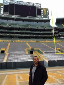 Julius Peppers at Lambeau Field