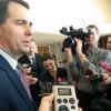 Walker talks to reporters (FILE PHOTO: Jackie Johnson)