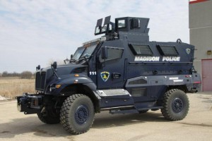An example of an armored vehicle being used by many police departments. (File Photo: Madison Police Department)