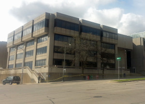 GEF1 state office building.