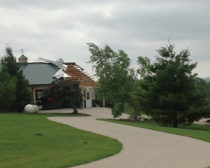 Storm damage in Iowa County (Photo: Wisconsin Emergency Management)
