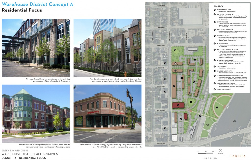 Mayor proposes alternatives for downtown Green Bay development