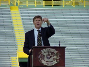 Packers President and CEO Mark Murphy