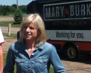 Democratic candidate for governor Mary Burke (Photo: WSAU)