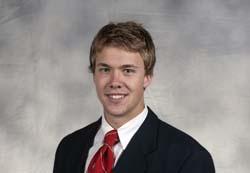 Wisconsin goaltender Joel Rumpel